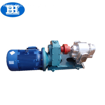 high viscosity horizontal sanitary stainless steel lobe pump